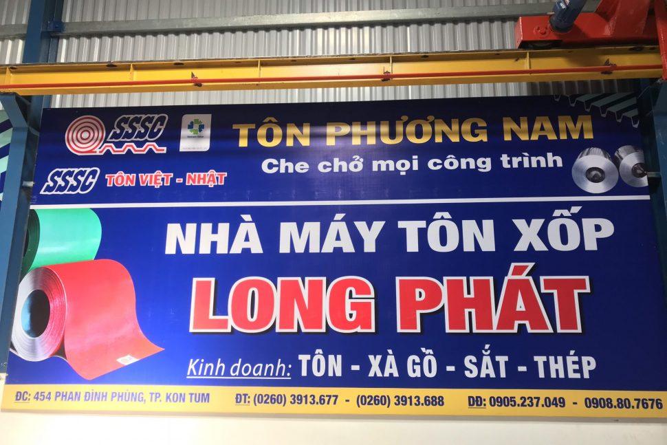 Nhà máy tôn Long Phát